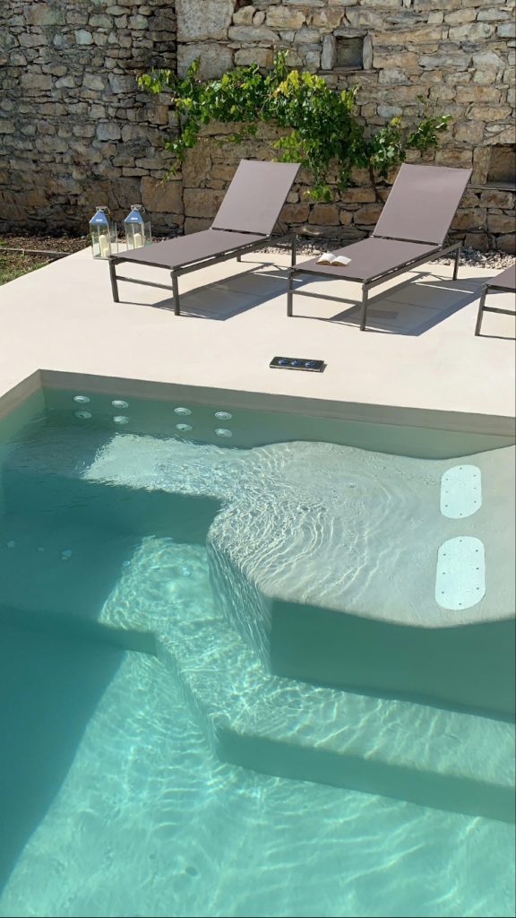 Terrasse & Piscine béton ciré